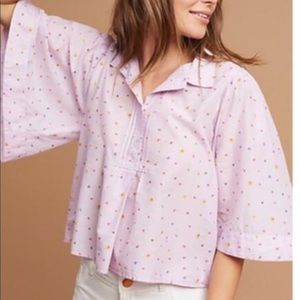Maeve Short butterfly sleeve top